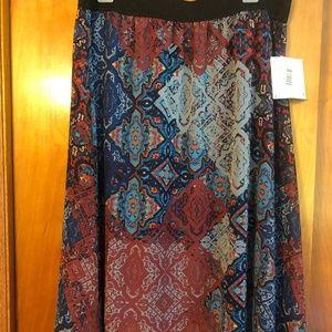 LuLaRoe Lola Skirt - Midi Skirt - Chiffon